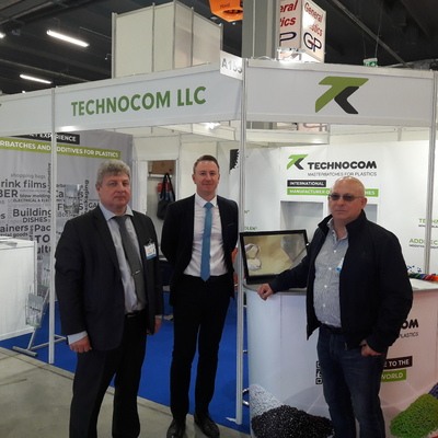 TECHNOCOM Company took part in the International Exhibition PLASTPOL 2019