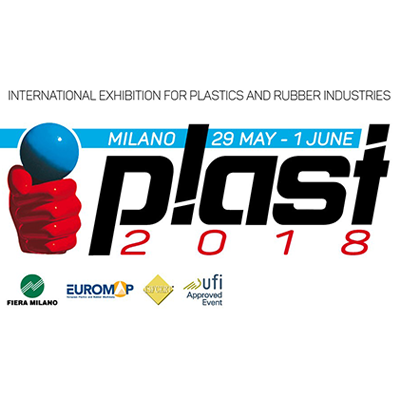 We invite you to visit our stand at the exhibition plast 2108 in milan